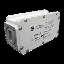 1108HDFF Norsat 1000 Ku-Band (10.70 - 12.75 GHz) Dual Band PLL LNB Model 1108HDFF