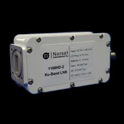 Norsat 1000 Ku-Band (10.70 - 11.80 GHz) Single Band PLL LNB Model 1208HD-2