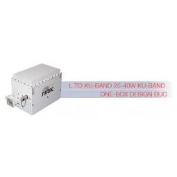 MITEC Ku-Band Medium Power BUC 25-40W One-Box Design