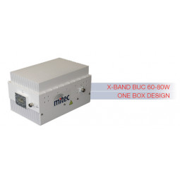 MITEC 60-80W X-BAND ONE-BOX-DESIGN BUC