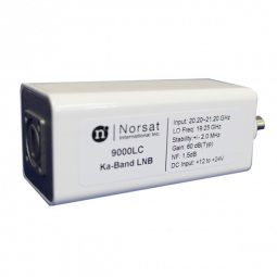 Norsat 9000 Single-Band Ka-Band (20.20 - 21.20 GHz) DRO LNB Model 9000LCF