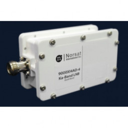 Norsat 9000 Ka-Band (17.2-22.2 GHz) Quad Band Isolator LNB Model 9000XI4ECN-4