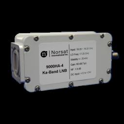 Norsat 9000 Single-Band Ka-Band (20.20 - 21.20 GHz) PLL LNB Model 9200HCN-4