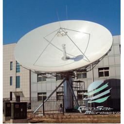 GeoSat 11.3 Meter C-Band Earth Station Antenna