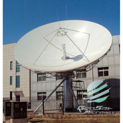 GeoSat 11.3 Meter KU-Band  Earth Station Antenna