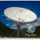 GeoSat 4.5 Meter (3.4 - 4.2 , 5.85 - 6.725 GHz) C-Band Earth Station Antenna | Model GA45MCTXRX
