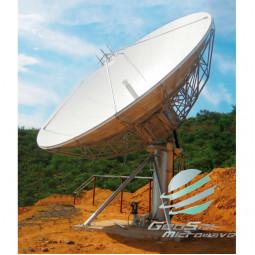 GeoSat 7.3 Meter (3.4 - 4.2, 5.85 - 6.725 GHz) C-Band Earth Station Antenna | Model GA73MCTXRX