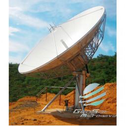 GeoSat 7.3 Meter (10.7 - 12.7, 13.75 - 14.5 GHz) KU-Ban Earth Station Antenna   Model GA73MKUTXRX