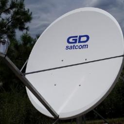 GD Satcom 1120 Series 1.2M Ku-Band Antenna System