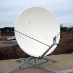 GD Satcom 1184 Series 1.8M C-Band Circular Antenna System