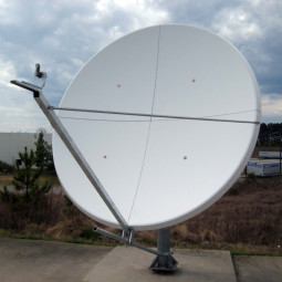 GD Satcom 1241 Series 2.4M Ku-Band Tx/Rx Antenna