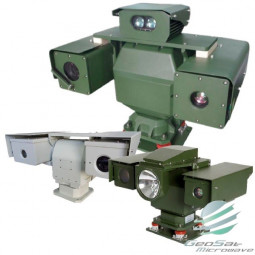 GeoSat Microwave Heraus Vehicle Mounted Multi-Channel Thermal Imaging Camera-| Model GSM1656H