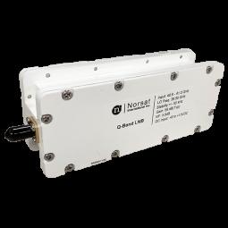 Norsat Q-Band (40.5 - 41.0 GHz) Single Band PLL LNB Model Q1000HF