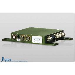 AGILIS ACU Series Quad-Band VSAT Outdoor Low Noise Block Control Unit F Input (LNB)