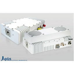 AGILIS ALB128 8W Ku-Band VSAT Outdoor Block-Up Converter N Input (BUC)