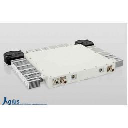 AGILIS ALB150 20W X-Band VSAT Outdoor Ultra-Slim Block-Up Converter F Input (BUC)