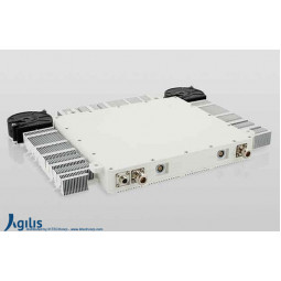 AGILIS ALB150 40W X-Band VSAT Outdoor Ultra-Slim Block-Up Converter N Input (BUC)