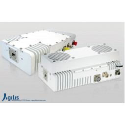 AGILIS ALB150 8W X-Band VSAT Outdoor Block-Up Converter F Input (BUC)
