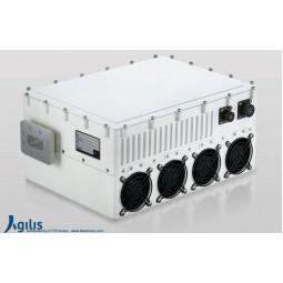 AGILIS ALB250 100W X-Band VSAT Outdoor Block-Up Converter N Input (BUC)