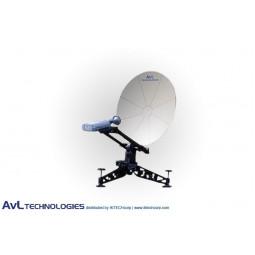 AvL 0814 85cm Manual or Motorized FlyAway Military Compact Portable Antenna X-Band
