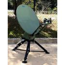 AvL Technologies 85cm Military Tri-Band Motorized Tripod FlyAway Antenna