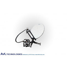 AvL 1014 1.0m Manual or Motorized FlyAway SNG Compact Portable Antenna Ku-Band
