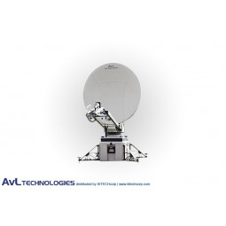 AvL 1050FA 1.4m Military Motorized Tri-Band FlyAway Antenna X-Band