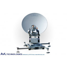 AvL 1098FD 1.2m Mobile VSAT Fly and Drive Satellite Antenna Ku-Band