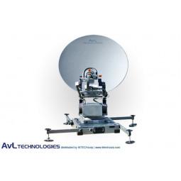 AvL 1098FA 1.0m Mobile VSAT Motorized Antenna Ku-Band