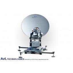 AvL 1098FA 85cm Mobile VSAT FlyAway Satellite Antenna Ku-Band