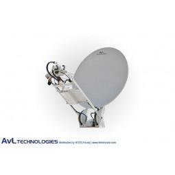 AvL 1200 1.2m SNG Vehicle-Mount Satellite Antenna 2-Port L-Band