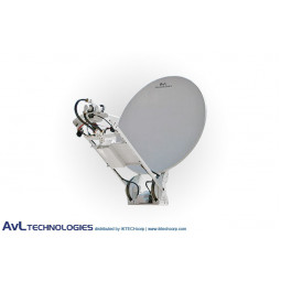 AvL 1200-HW 1.2m SNG Vehicle-Mount Satellite Antenna L-Band High Wind