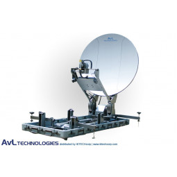 AvL 1210FD 1.2m Premium SNG Motorized FlyAway or DriveAway Antenna Ku-Band