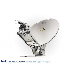 AvL 1212 Premium SNG 1.2m Motorized Vehicle-Mount Satellite Antenna Ku-Band