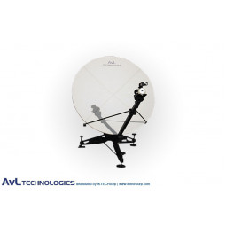 AvL 1215 1.2m Manual or Motorized FlyAway Military Compact Portable Antenna Ka-Band