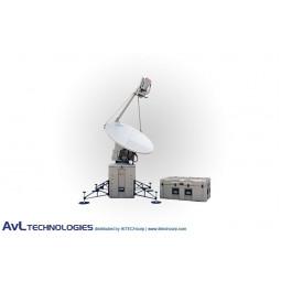 AvL 1268FA 1.2m Mobile VSAT FlyAway Satellite Antenna Ku-Band