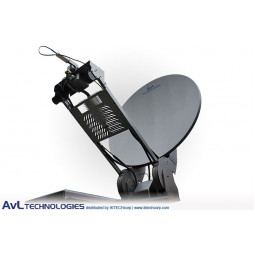 AvL 1278 1.2m Motorized Vehicle-Mount VSAT Satellite Antenna Ku-Band