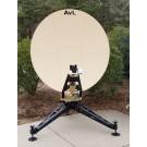 AvL Technologies 1.2m Military Multi-Band Motorized FlyAway Antennas