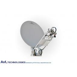 AvL 1410 Premium SNG 1.4m Motorized Vehicle-Mount Satellite Antenna Ka-Band Commercial