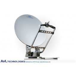 AvL 1610 Premium SNG 1.6m Motorized Vehicle-Mount Satellite Antenna Precision Ku-Band