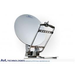 AvL 1610 Premium Military 1.6m Motorized Vehicle-Mount Satellite Antenna X-Band