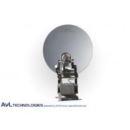 AvL 1810 Premium SNG 1.8m Motorized Vehicle-Mount Satellite Antenna Ka-Band Commercial