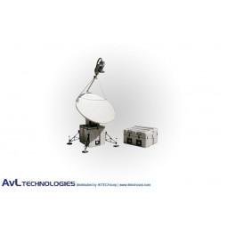 AvL 2020FA 1.6m SNG Motorized Quad-Band FlyAway Antenna C-Band