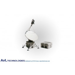 AvL 2020FA 1.6m SNG Motorized Quad--Band FlyAway Antenna C-Band INSAT