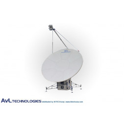 AvL 2020FA 2.4m Military Motorized Quad-Band FlyAway Antenna Ka-Band