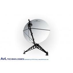 AvL 2415 2.4m Manual or Motorized FlyAway Military Compact Portable Antenna Ka-Band