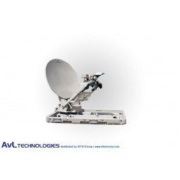 AvL 880FA 85cm Premium Mobile Motorized VSAT Satellite Antenna Ku-Band