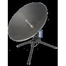 C-Comsat Flyaway Antenna MP-100-MOT (Motorized Ku/Ka/X Band ManPack)