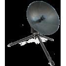 C-Comsat Flyaway Antenna MP-60-MOT (Motorized Ku/Ka/X Band ManPack)