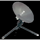 C-Comsat Flyaway Antenna MP-80-MOT (Motorized Ku/Ka/X Band ManPack)
